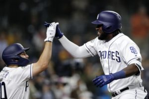 Reyes' homer lifts Paddack, Padres to 2-1 win over Arizona