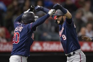 Gonzalez helps power Twins to 8-3 victory over Angels