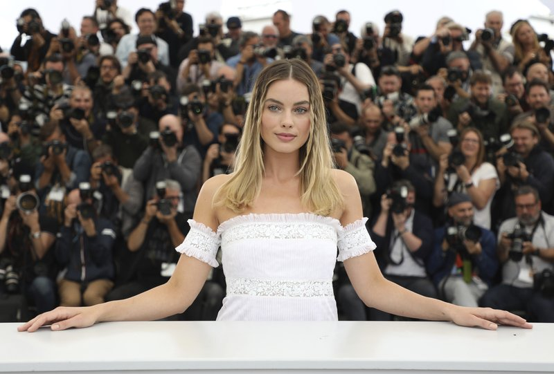 Actress Margot Robbie poses for photographers at the photo call for the film 'Once Upon a Time in Hollywood' at the 72nd international film festival, Cannes, southern France, Wednesday, May 22, 2019. (Photo by Vianney Le Caer/Invision/AP)
