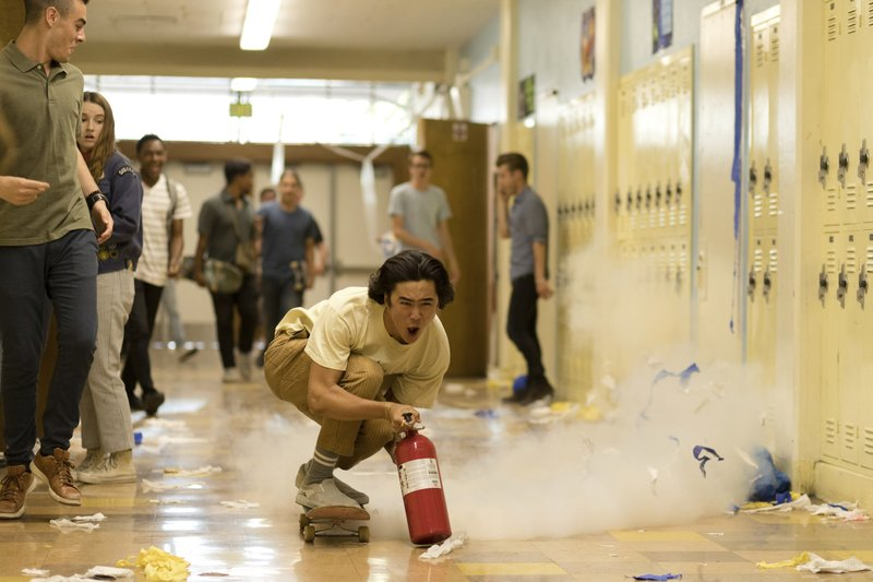 This image released by Annapurna Pictures shows Nico Hiraga in a scene from
