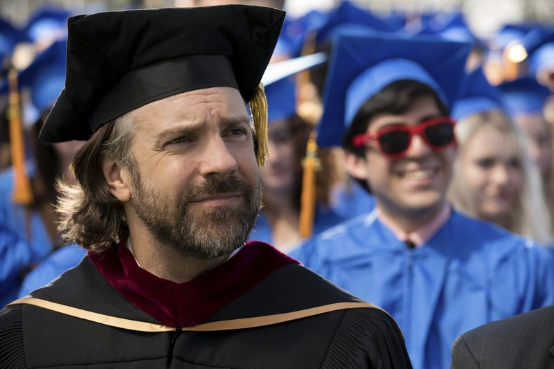 This image released by Annapurna Pictures shows Jason Sudeikis in a scene from the film
