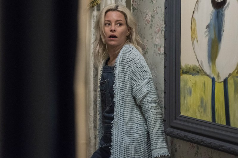 This image released by Sony Pictures shows Elizabeth Banks in a scene from Screen Gems'