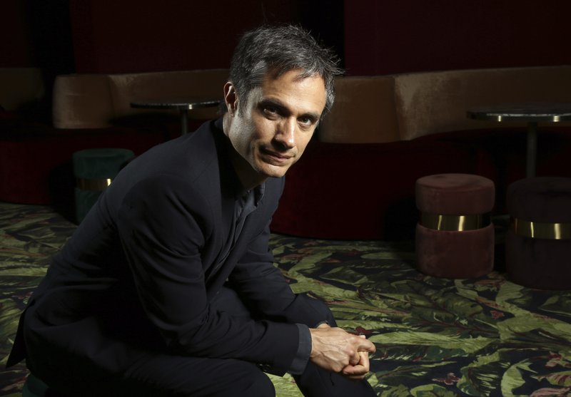 Director Gael Garcia Bernal poses for portrait photographs for the film 'Chicuarotes' at the 72nd international film festival, Cannes, southern France, Tuesday, May 21, 2019. (Photo by Joel C Ryan/Invision/AP)