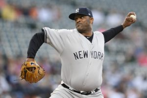 Yankees' CC Sabathia placed on IL with knee inflammation