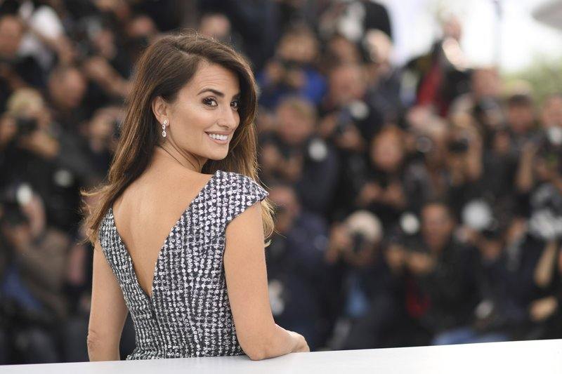 Spanish actress Penelope Cruz appears at the photo call for