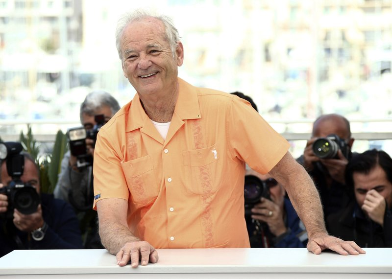 American actor Bill Murray poses for photographers at the photo call for