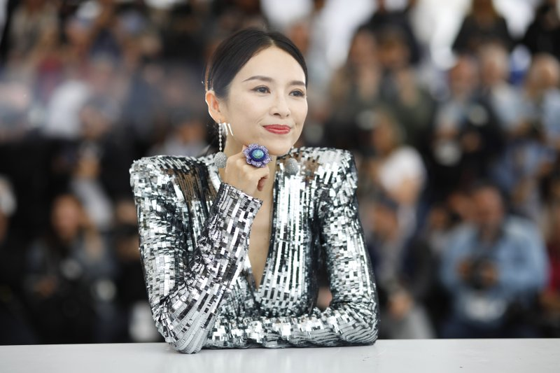 Chinese actress Zhang Ziyi appears at the photo call for her masterclass during the Cannes Film Festival on May 21. (AP Photo/Petros Giannakouris)