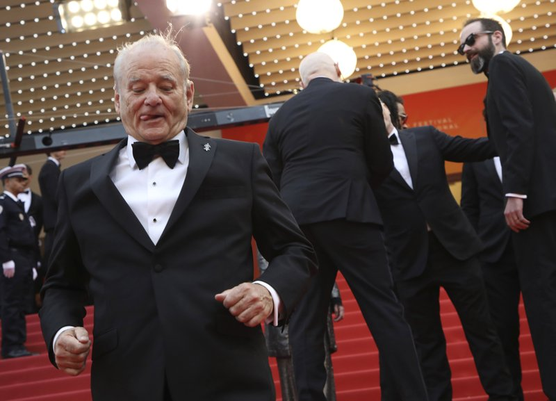 Actor Bill Murray arrives at the premiere of