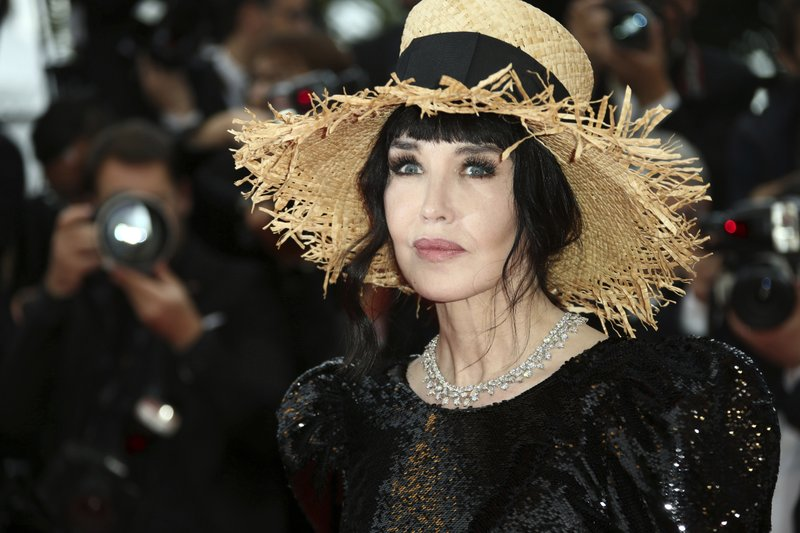 French actress Isabelle Adjani appears at the premiere of