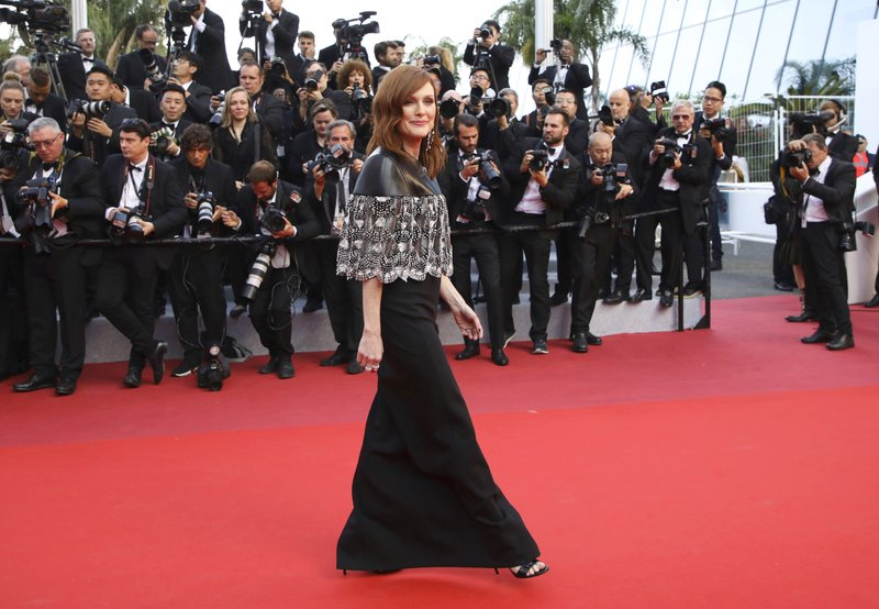 American actress Julianne Moore arrives at the premiere of