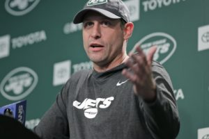 Jets' Gase: Had no input on GM firing; excited about Bell