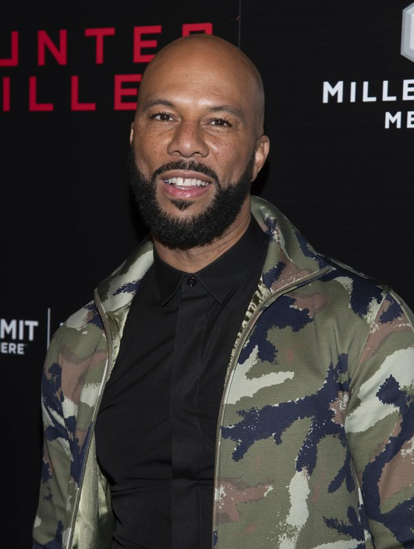 FILE - In this Oct. 22, 2018 file photo, Common attends the world premiere of