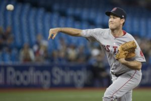 Weber gets first win as starter, Red Sox beat Jays 8-2