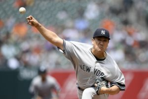 Yankees use bases-loaded walk to beat Orioles 6-5 for sweep