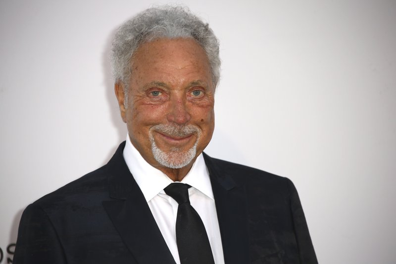 Tom Jones poses for photographers upon arrival at the amfAR, Cinema Against AIDS, benefit at the Hotel du Cap-Eden-Roc, during the 72nd international Cannes film festival, in Cap d'Antibes, southern France, Thursday, May 23, 2019. (Photo by Joel C Ryan/Invision/AP)