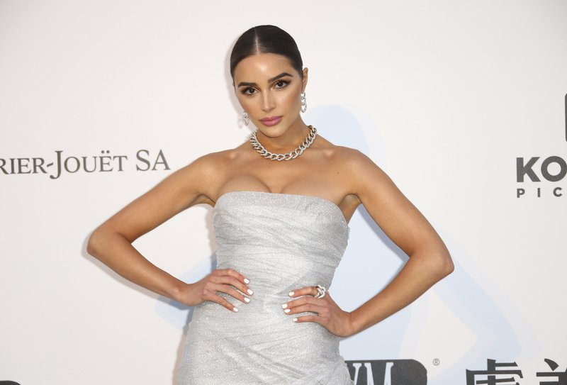 Model Olivia Culpo poses for photographers upon arrival at the amfAR, Cinema Against AIDS, benefit at the Hotel du Cap-Eden-Roc, during the 72nd international Cannes film festival, in Cap d'Antibes, southern France, Thursday, May 23, 2019. (Photo by Joel C Ryan/Invision/AP)
