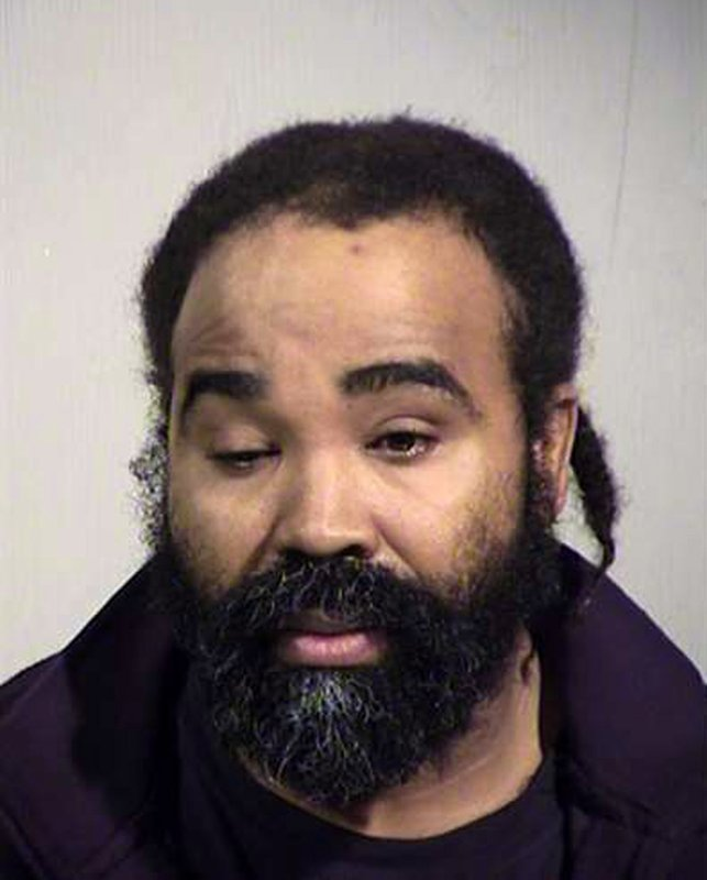 FILE - This photo provided by Maricopa County Sheriff's Office shows Nathan Sutherland, who is charged with sexually assaulting an incapacitated woman who later gave birth at a long-term care facility in Phoenix. A legal claim against the state of Arizona by the woman's parents alleges the state and the facility where she was being cared for broke promises to have only female caregivers tend to their daughter. (Maricopa County Sheriff's Office via AP, File)