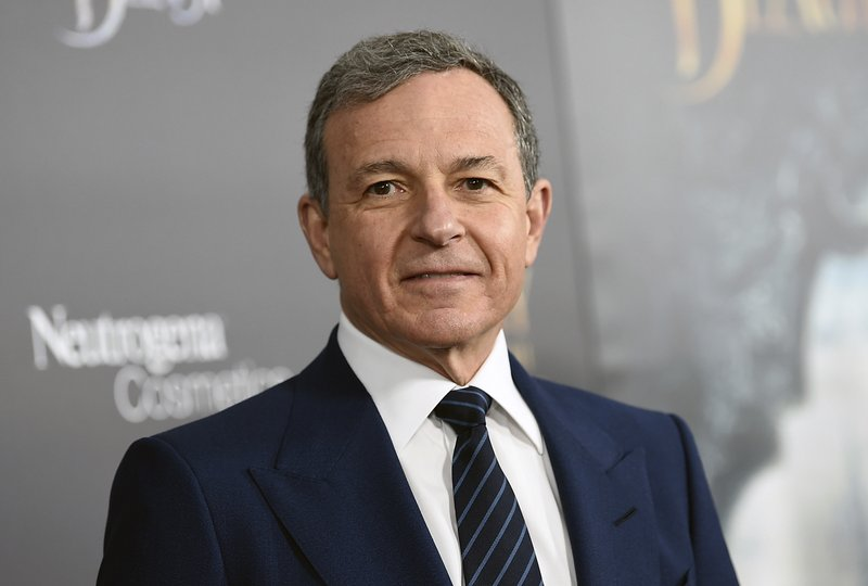 FILE - In this March 13, 2017, file photo, The Walt Disney Company CEO Robert Iger attends a special screening of Disney's
