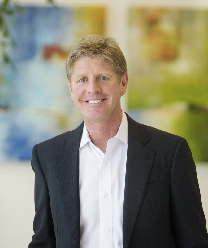 In this undated image provided by Align Technology company CEO Joseph Hogan poses for a photo. was the fifth-highest paid CEO at big U.S. companies for 2018, as calculated by The Associated Press and Equilar, an executive data firm. He made $41.8 million. (Align Technology via AP)