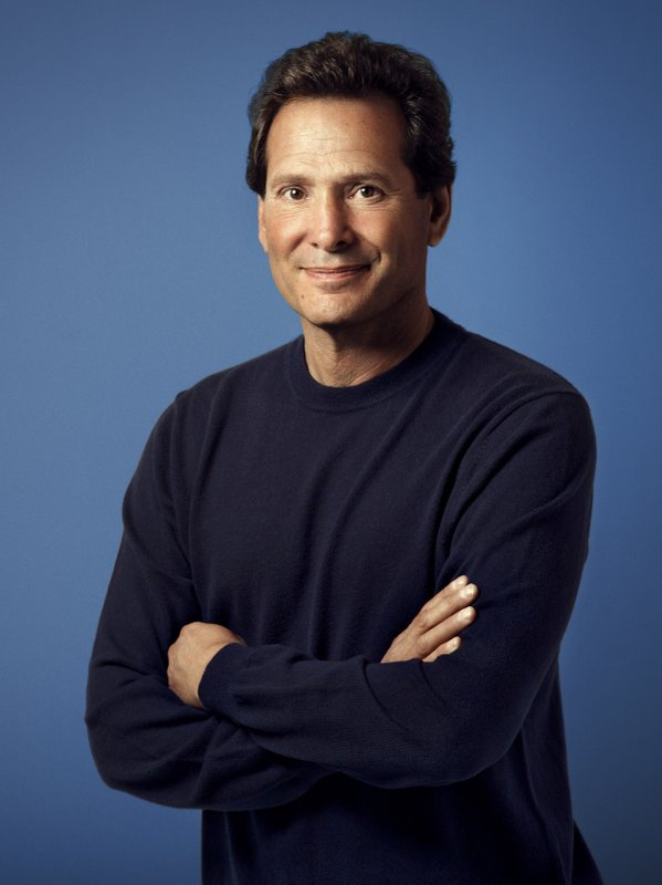 In this undated image provided by PayPal company CEO Daniel Schulman poses for a photo. Schulman was the sixth-highest paid CEO at big U.S. companies for 2018, as calculated by The Associated Press and Equilar, an executive data firm. He made $37.8 million. (PayPal via AP)