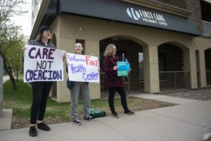 Pregnancy centers near campus draw debate on abortion access
