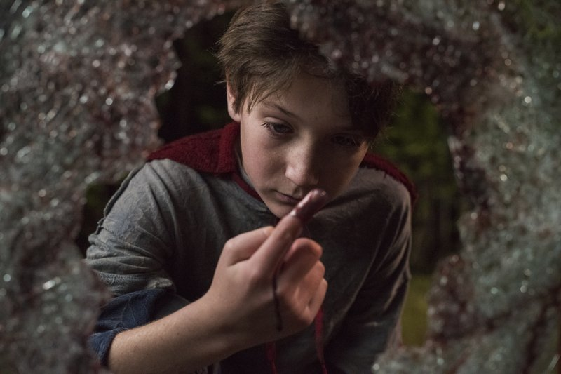 This image released by Sony Pictures shows Jackson A. Dunn in a scene from Screen Gems'