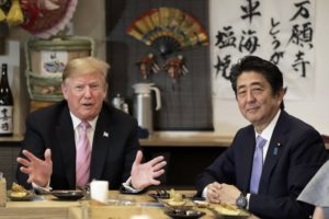 Trump to be first head of state to meet Japan's new emperor