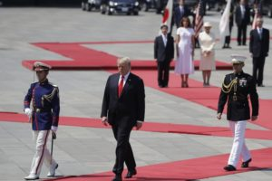 Update: Trump meets Japan's Emperor Naruhito