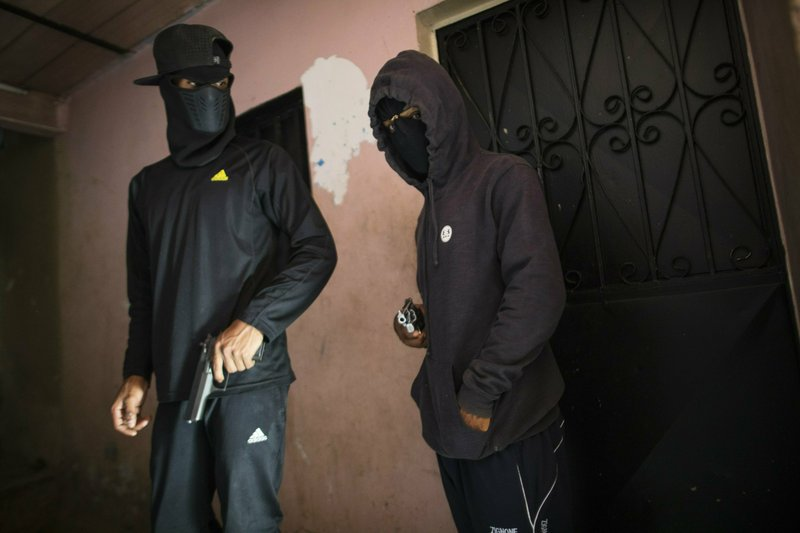 Masked criminals who go by the name