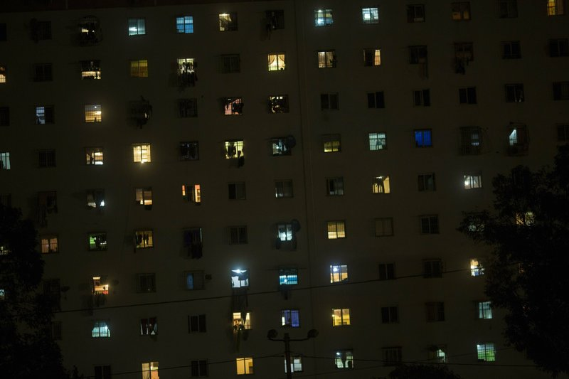 Apartments units built by the government as part of the
