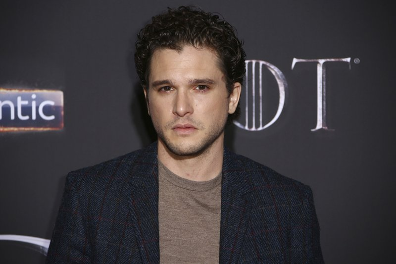FILE - This April 12, 2019 file photo shows actor Kit Harington at the premiere of the final season of