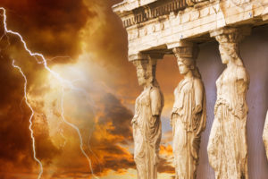Formation, stasis, degradation, destruction – A universal law tested in the world of ancient Greece
