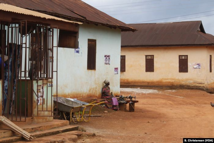 Communities around Ghana's Atewa forest reserve in Sagymase have been affecte