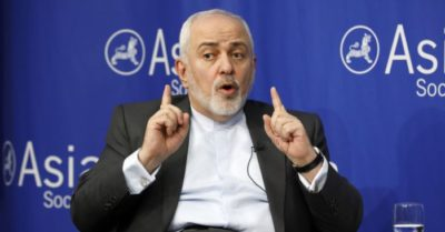 Iran's foreign minister threatens 'all-out war' if US or Saudi strike