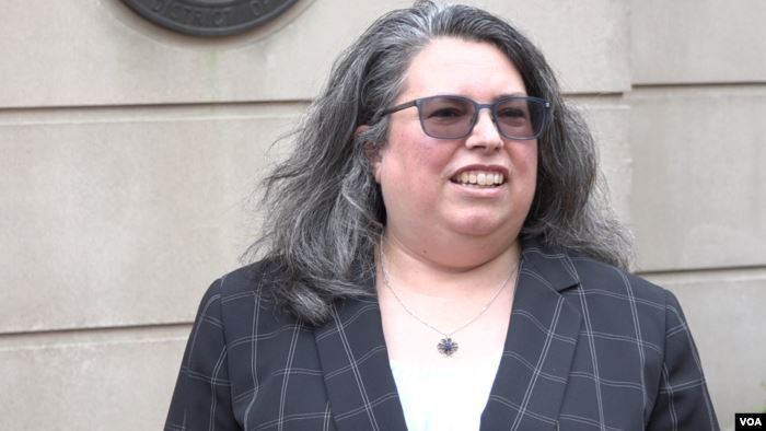Kathy Roberts, a lawyer with the San Francisco-based Center for Justice and A