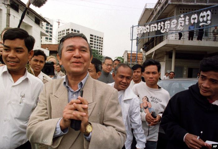 Kem Sokha, former chairman of the Cambodian parliament's human rights com
