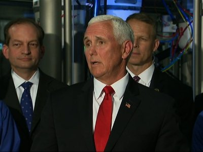 Vice President Mike Pence says they are