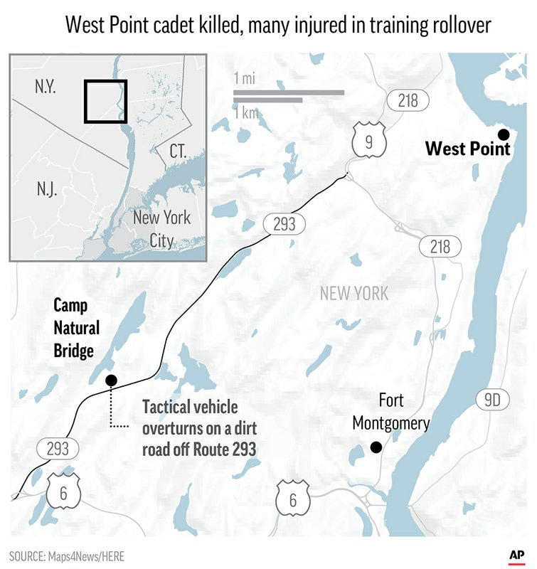 West Point officials said they don't know the cause of the crash . The investigation will include a standard probe by the Army's Criminal Investigation Division.;