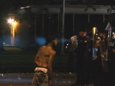 Chaos erupted in Memphis, Tennessee as authorities investigated a shooting involving a regional fugitive task force. There was no immediate word of who may have been shot, but angry residents poured into the streets and confronted police. (June 13)