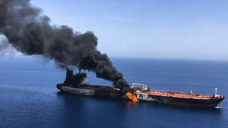 Two oil tankers near the Strait of Hormuz were damaged in suspected attacks on Thursday, an assault that left one ablaze and adrift as sailors were evacuated from both vessels and the US Navy rushed to assist. (June 13)