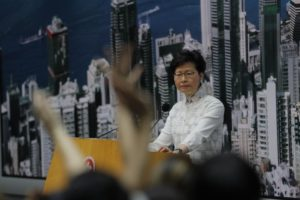 Hong Kong Chief Executive suspends China-extradition bill under mounting pressure