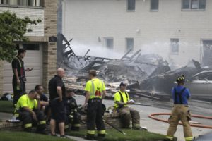 Update: Off-duty cop may have saved house blast victim