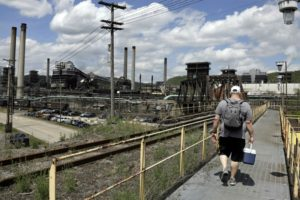Fire triggers pollution concerns at US Steel coke plant