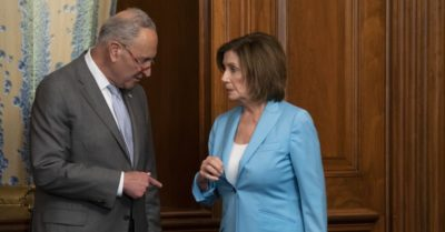 Pelosi and Schumer reacts to the impeachment hearing: try to defend 'hearsay'