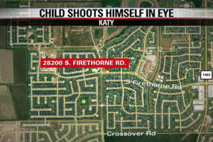 UPDATE: 3-year-old Katy boy dies days after accidentally shooting himself