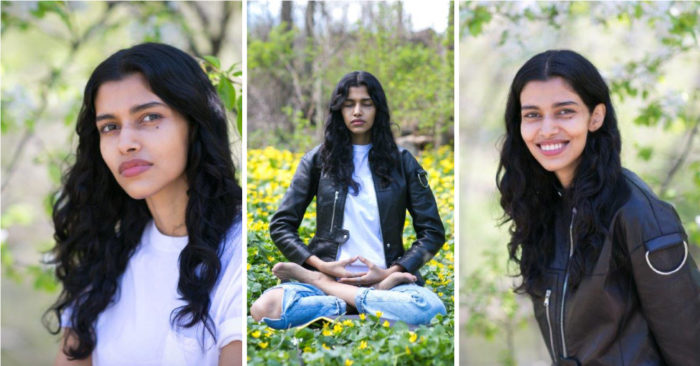 Super-model Pooja Mor shares how one meditation keeps her grounded in the world of glamour