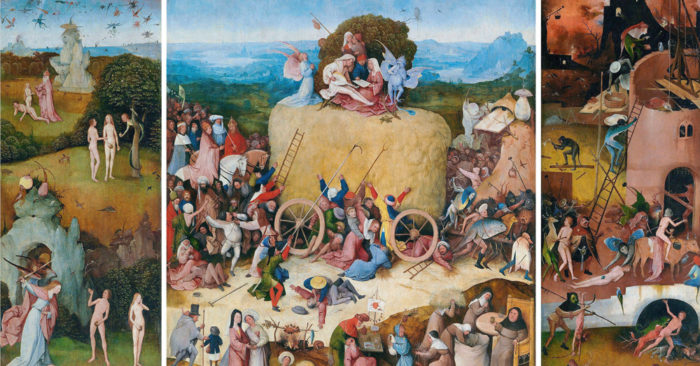 'The Haywain Triptych', or the Consequences of Greed