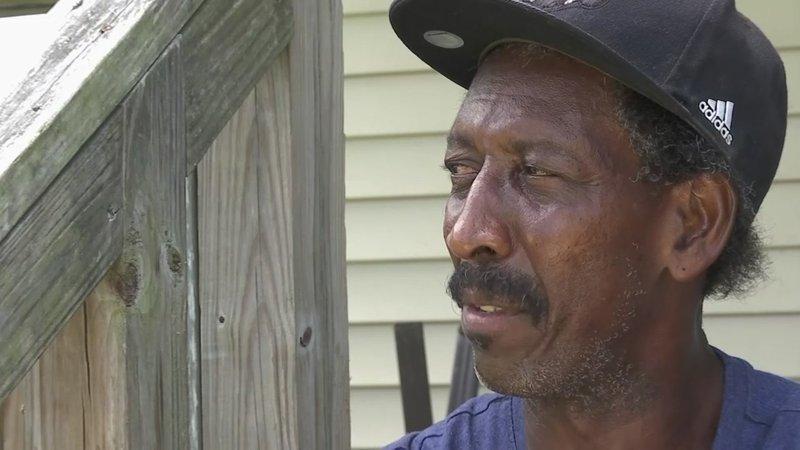 Clarence Brock has lived in Plaquemines Parish his entire life. He can't remember how many times he's evacuated but that doesn't mean he plans to take a chance with Mother Nature. (July 11)
