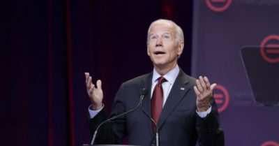Joe Biden attracted only 30 supporters in New Hampshire during Trump big rally
