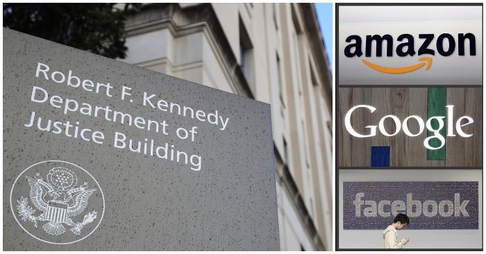 Justice Dept. launches antitrust scrutiny of Big Tech